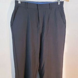 Izod Boys Dress Pants Size 18 Gray Wool Blend Suit